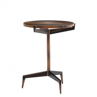 Calle Stella Side Table - WITH MALABAR WOOD TOP
