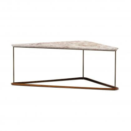 Bauta Side Table Large - WITH MARBLE TOP
