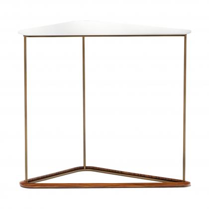 Bauta Side Table Tall - WITH TORTORA TOP