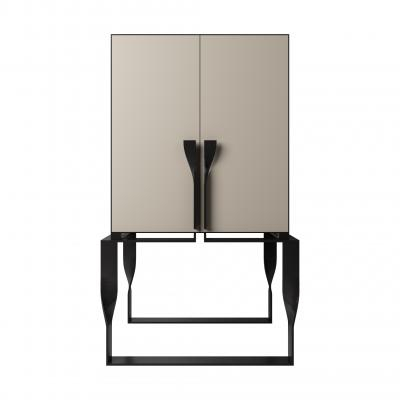 Forcola Bar Cabinet New - FORCOLA BAR with DOORS SET - TORTORA