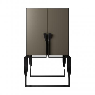 Forcola Bar Cabinet New - FORCOLA BAR with DOORS SET - LIQUID META