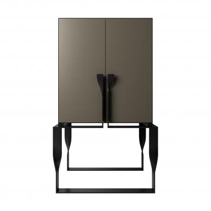 Forcola Bar Cabinet New - FORCOLA BAR with DOORS SET - LIQUID META