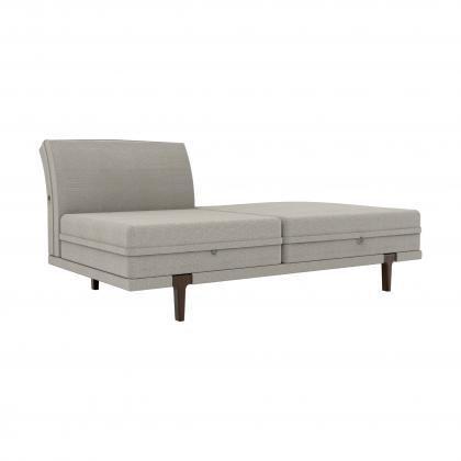 Asola Armless 1 Seat W/ottoman