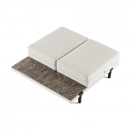 Asola Occasional Seat Table - asola occasional Damantio bronze Top