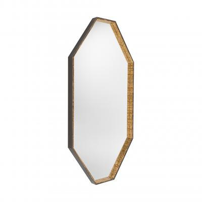 Gillo Large Mirror - BRONZO-DAMANTIO GOLD