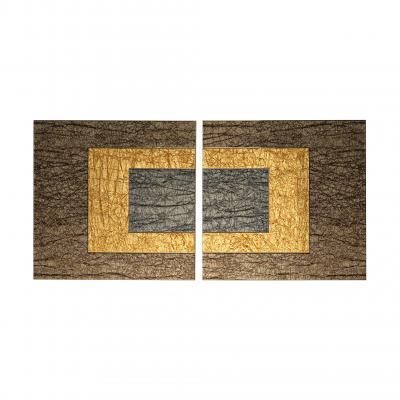 Damantio Wall Art Limited Edition - BRONZE OUTS./SILVER