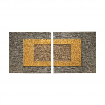 Damantio Wall Art Limited Edition - SILVER OUTS./BRONZE