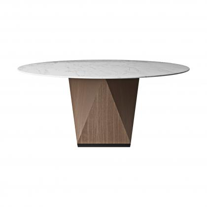 Piano Dining Table Round 160