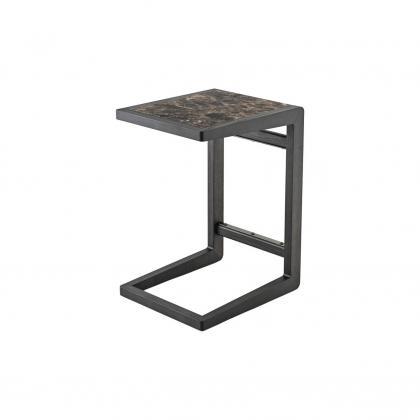 Ago Side Table - ago side table Emperador Marble top