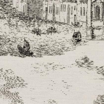Toile De Venise - ANTRACITE