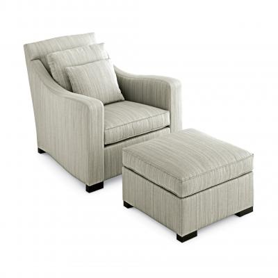 Bond Street Coupe Club Chair - .