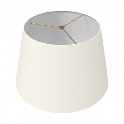 Drum Shade 18 In - IVORY/BRASS