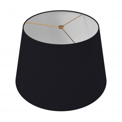 Drum Shade 18 In - NOIR/BRASS