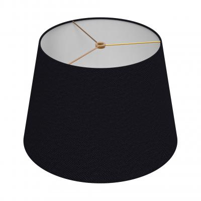 Small Drum Shade - NOIR/BRASS