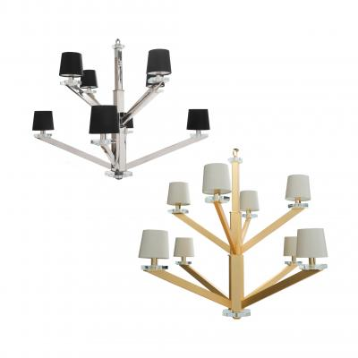 Aster Chandelier - SATIN GOLD