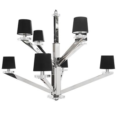 Aster Chandelier - POLISHED NICKEL