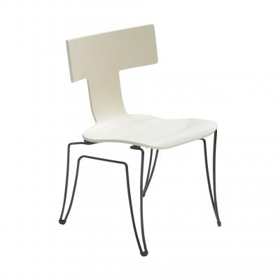 Anziano Chair - IVORY LACQUER