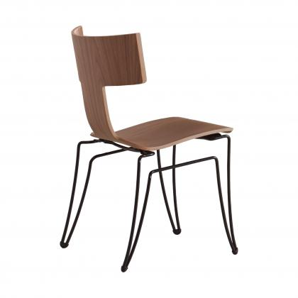 Anziano Chair - NATURAL WALNUT